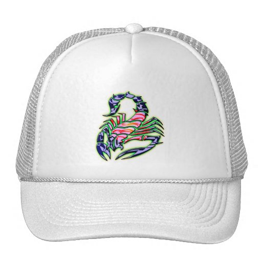 RETRO STYLE SCORPION MESH HATS