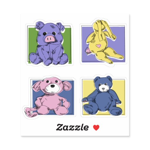 Retro Style Toys Sticker