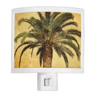 Retro Style Tropical Island vintage Palm Tree Night Light