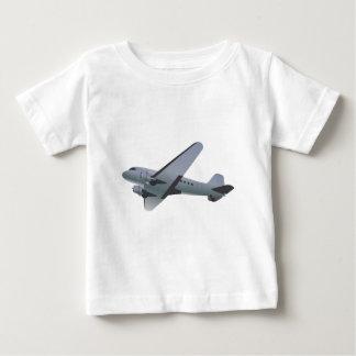 Retro-styled airplane design t-shirt