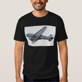 Retro-styled airplane design t shirt