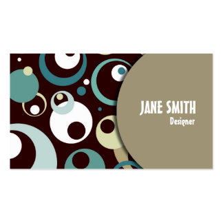 Retro Styled Business Card