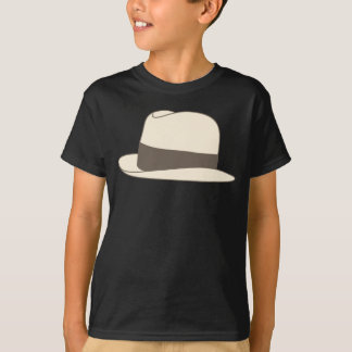 retro styled fedora hipster hat T-Shirt