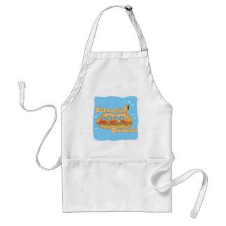 Retro Sub Sandwich Too! Adult Apron