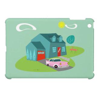 Retro Suburban House iPad Mini Case