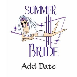 Retro Summer Bride shirt