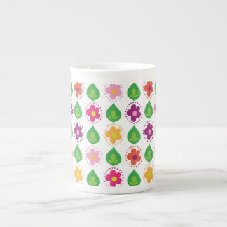 retro summer feeling pink tea cup