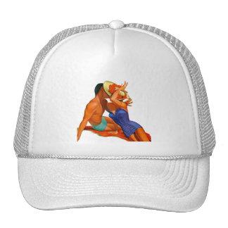 Retro Summer Lovers Trucker Hat