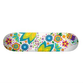 retro summer skateboard