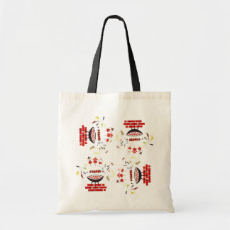 RETRO SUMMER TAILGATE GRILLING BAGS TOTE BAG