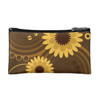 Retro sun flowers bag
