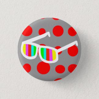 Retro Sunglasses Button