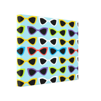 Retro sunglasses cnvas canvas print