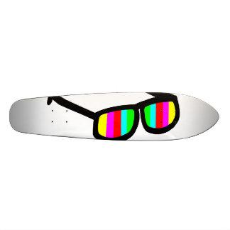 Retro Sunglasses Longboard Skateboard