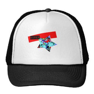 Retro Superstar In Day-Glo Trucker Hat