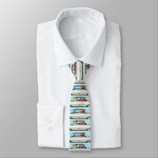 RETRO SUPERVISED UNSUPERVISED Custom Skinny Tie