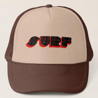 retro surf trucker hat