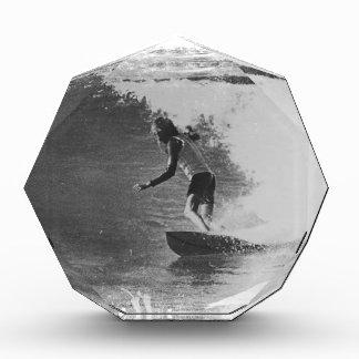 retro surf wear acrylic award
