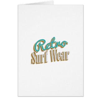 Retro Surf Wear Card