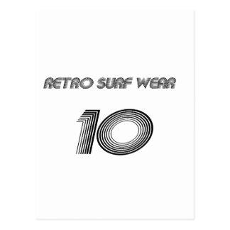 Retro Surf Wear Postcard