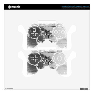 retro surf wear skin for PS3 controller