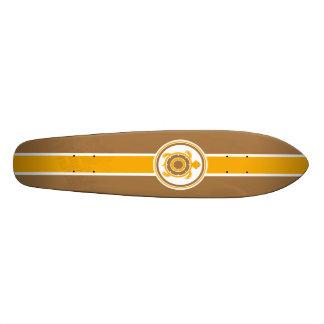 Retro Surfboard Skateboard Deck