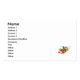 Retro Surfer Double-Sided Standard Business Cards (Pack Of 100)