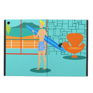 Retro Surfer Dude iPad Air Case