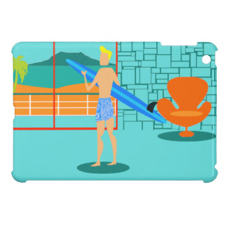 Retro Surfer Dude iPad Mini Case