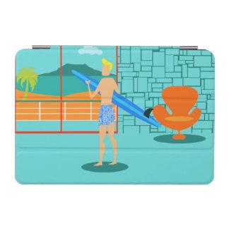 Retro Surfer Dude iPad Mini Smart Cover