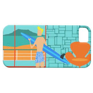 Retro Surfer Dude iPhone 5/5S Case