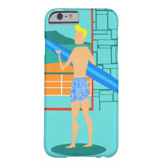 Retro Surfer Dude iPhone 6 Case