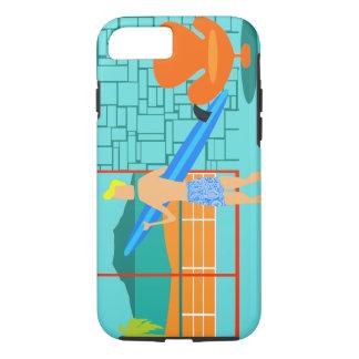 Retro Surfer Dude iPhone 7 Case