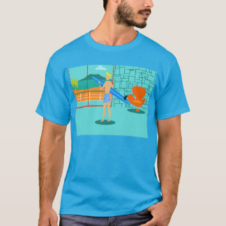 Retro Surfer Dude T-Shirt