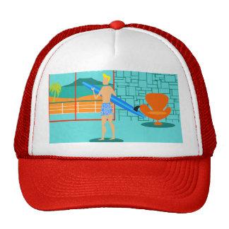Retro Surfer Dude Trucker Hat