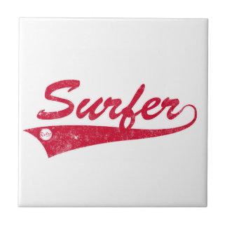Retro Surfer Tile