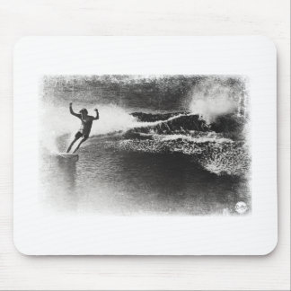 retro surfing mouse pad