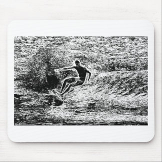 Retro Surfing Vintage Style Mouse Pad