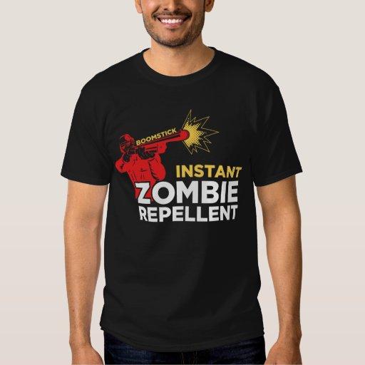 Retro Survival Horror: Boomstick Zombie Repellent T Shirt