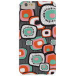 Retro Sushi Box Flower Squares Custom Case Barely There iPhone 6 Plus Case