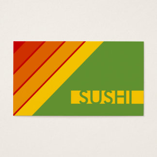 retro SUSHI Business Card
