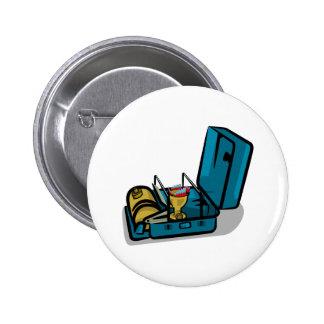 Retro Swedish Camp Stove Pinback Button