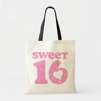 Retro Sweet 16 Tote Bag