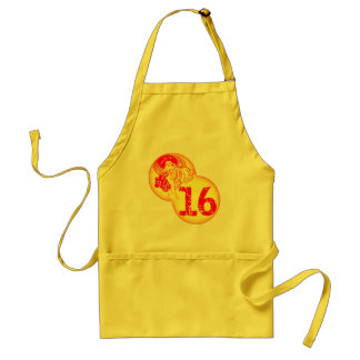 Retro Sweet 16th Birthday Gifts Aprons