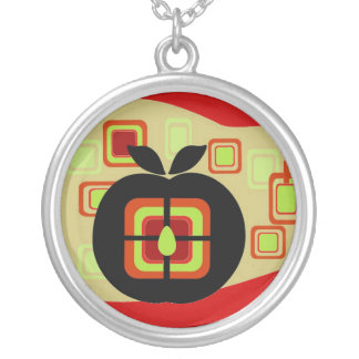 Retro Sweet and Sour Apple Pendant