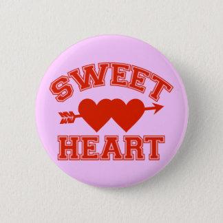 Retro Sweetheart Pinback Button