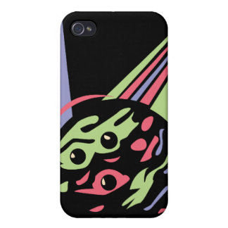 retro swirl bowling ball cover for iPhone 4