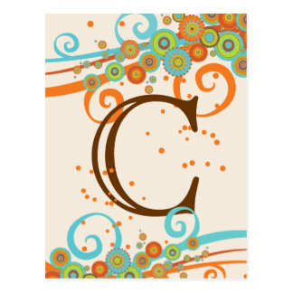 Retro Swirl Celebration Make Your Own Banner Card