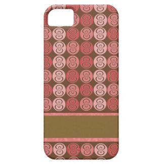 Retro Swirl iPhone SE/5/5s Case