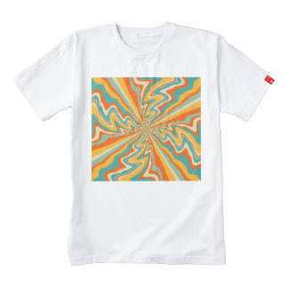 Retro swirl zazzle HEART T-Shirt